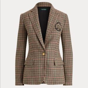 Ralph Lauren Bullion Wool Blazer